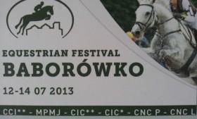 Festiwal Jeździecki Baborówko 12-14.07.2013
